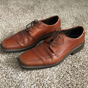 Men's Ecco - Size 46 (11) - Brown Leather